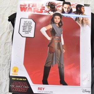 NWT Star Wars Rey Child Costume Size Large